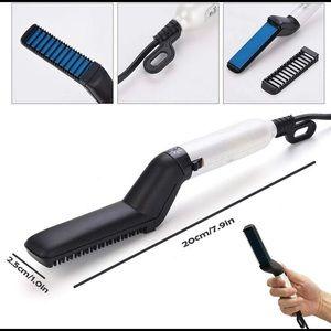 Other - Beard/hair Straightening Flat Iron Heated Comb